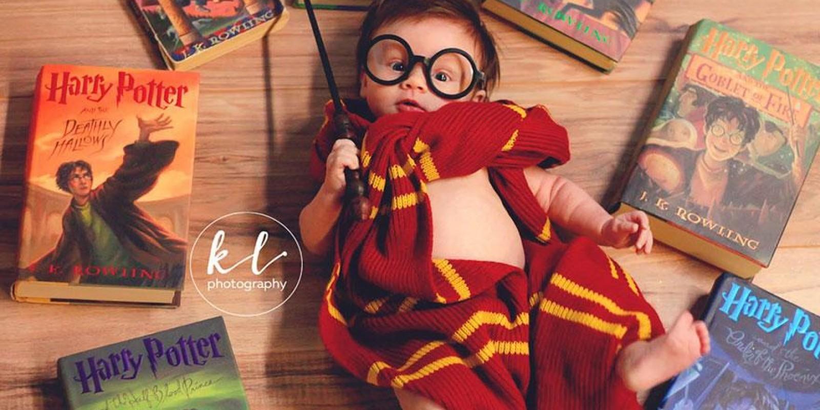 [Bebê ganha incrível ensaio fotográfico.]