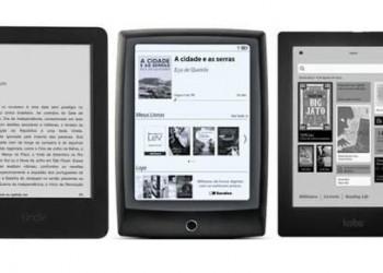 [Comparações entre Kindle, Kobo...]