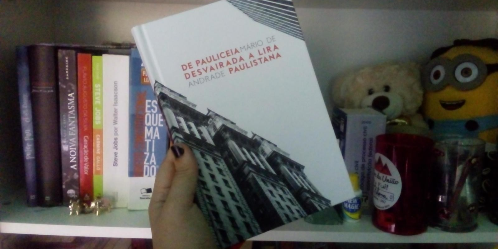 [Resenha: De Pauliceia Desvairada a Lira Paulistana - Mario de Andrade ]