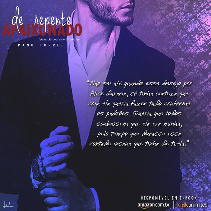 Ebook: De repente apaixonado - Manu Torres