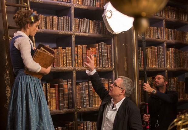Veja as primeiras imagens oficiais do filme A Bela e a Fera